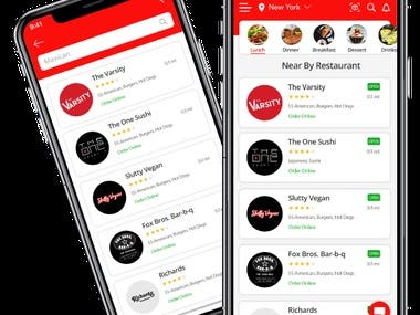 Now Open- Restaurant Booking App
