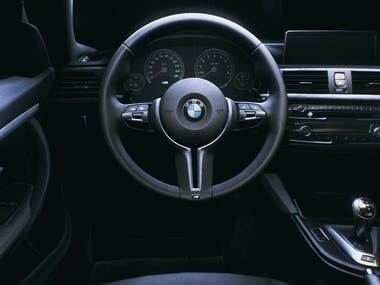 Unreal Engine Cinematic Video BMW M4 Interior
