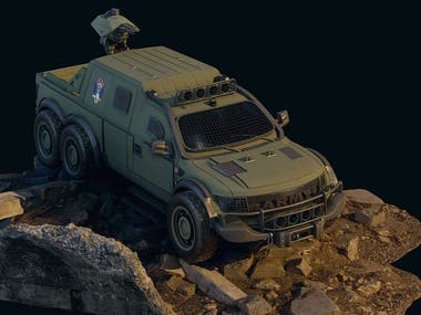 Concept Ford Ford F 150 Military Restayling
