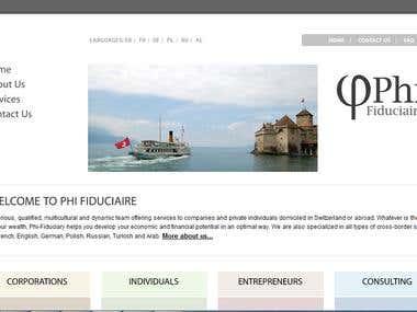 Switzerland Based Website