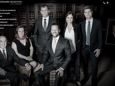 EBIA - Law firm website