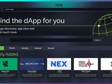 nOs User Interface