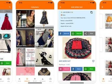 shopping app- laravel