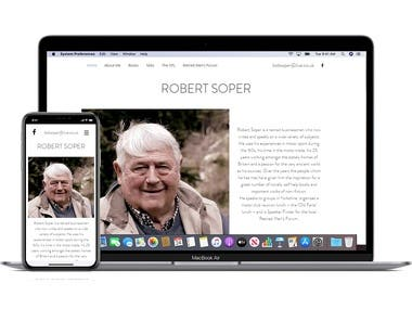 www.robertsoper.co.uk - Web Design and Build, Social Media