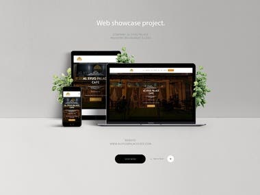 Web Development for Restaurant