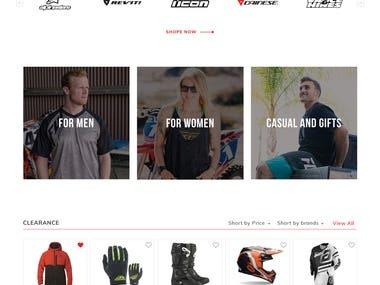 Motorbike Accessories Online Store