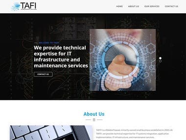 Website for an IT Company