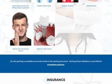 Website for OMHNA Medical Center
