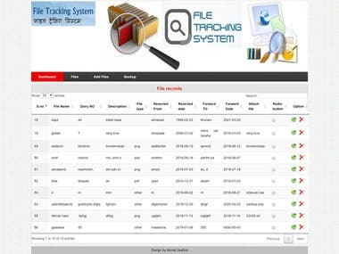 File Tracking System