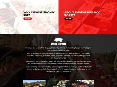 Restaurant Website(https://smokinjoeshogroasts.com/)