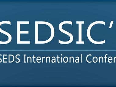 SEDS International Conference - logo