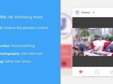 UBL Wellbeing Week