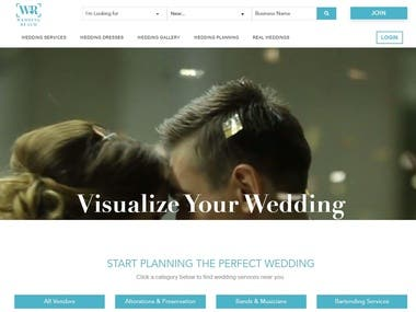 Laravel Wedding Site