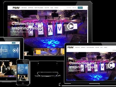 PSAV - Event Planning & Management Platform