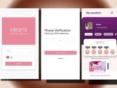 Kiran's App
