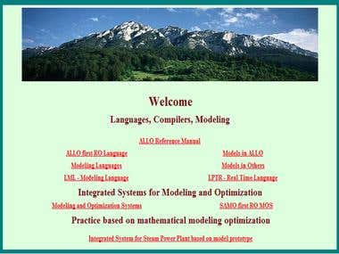 Linear Modeling Optimisation Sistem