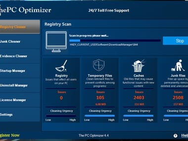 Windows PC Optimizer