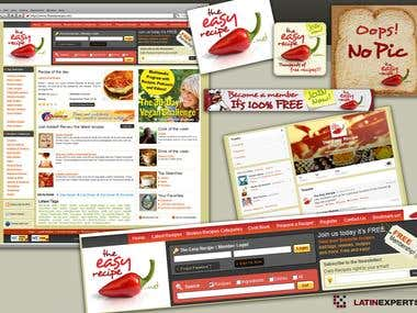 The Easy Recipe - Complete Web Design, Web Development + SEO