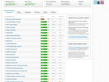 Website Speed Optimisation - https://www.covemortgage.com/