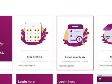 Bus Booking App Angular and Ionic