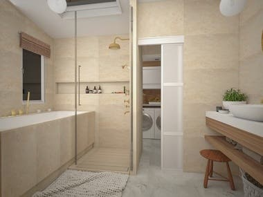 Baths CAD design