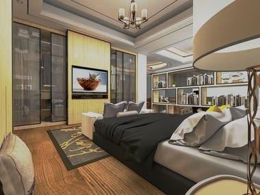 Bedrooms CAD Design
