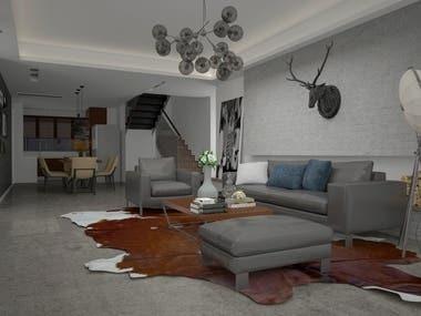 Livingrooms CAD Designs