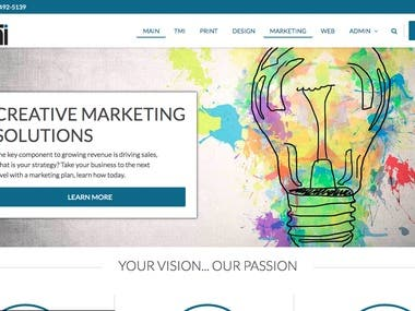 The TMI Solution | Website Development
