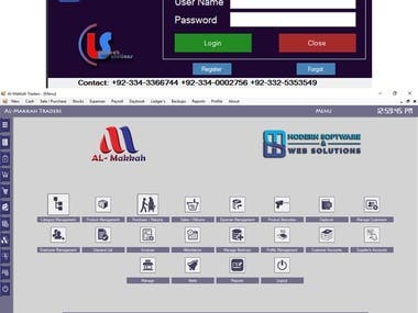 Windows Based POINT OF SALE & Inventory Management System.