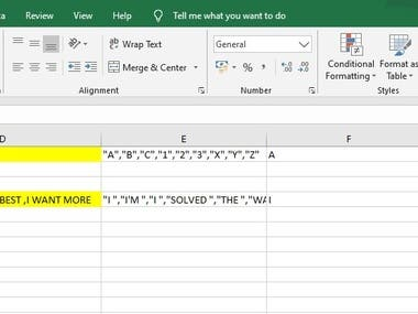 EXCEL FEATURE USAGE- TEXT TO COLUMNS