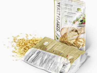 Yeast Flakes | Vegan Food Package