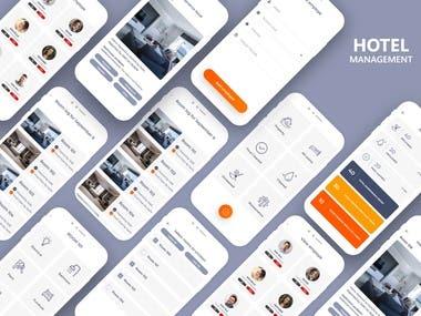 Hotel Management – Mobile App