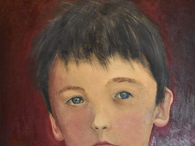 Portrait of my son