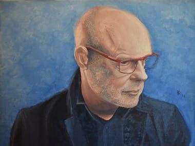 Portrait of Brian Eno