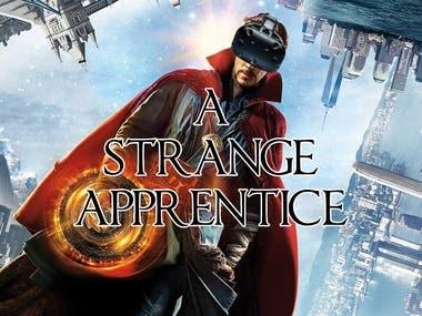A Strange Apprentice: A VR game based on Doctor Strange