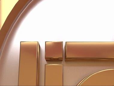 3D Logo | Light News Channel