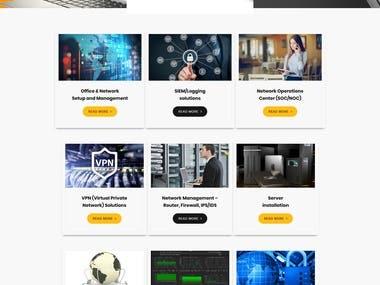 Security Company Site(http://steadinc.com)