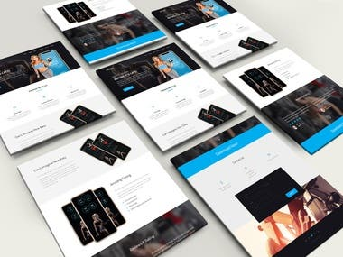 Fitness Ui Design