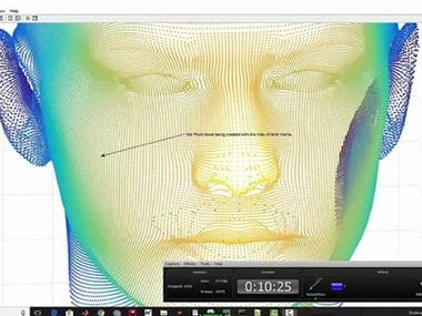 3D Face Recognition Machine Learning for a client