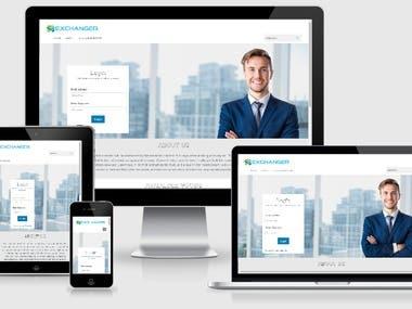 Exchanger Website