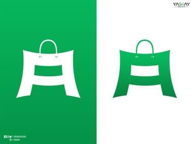 E COMM   Logo Design