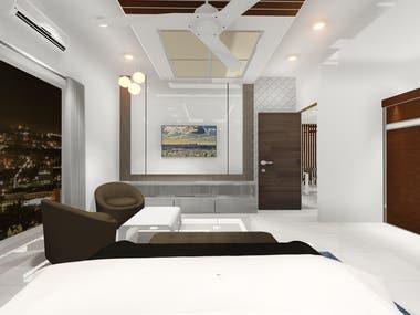 Interior design 3D randering