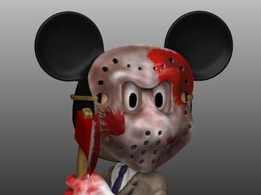 model mickey