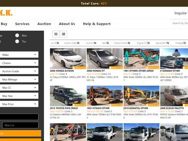 Car Auction Website