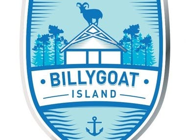 logo for Billygoat Island