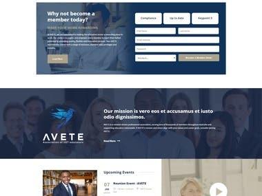 Wordpress Avete website