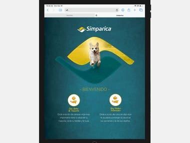 Simparica Product Site Creation