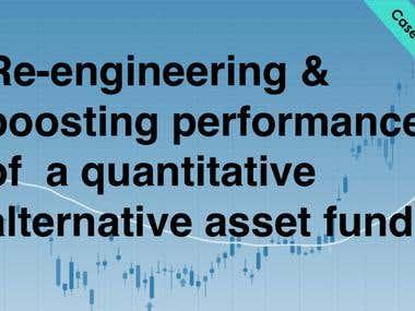 Quantitative fund for improving performance