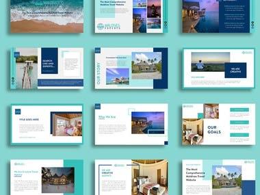 Presentation Template For Tourism Business