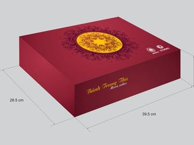 Design of mooncake box